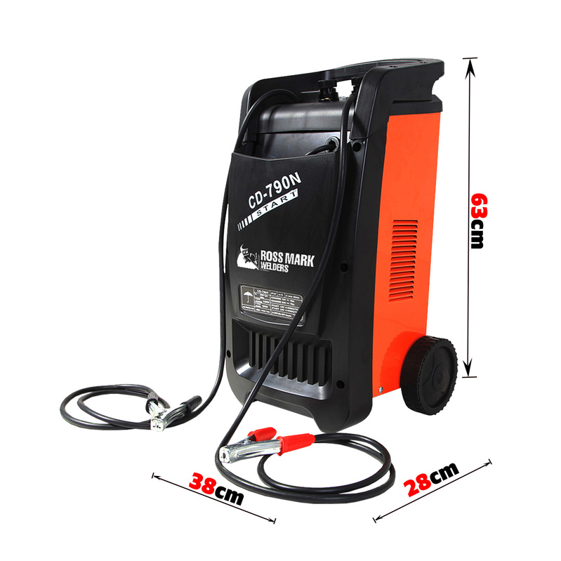NEW ROSSMARK Car Battery Charger 650A 12v / 24v Jump Starter ATV Boat Truck