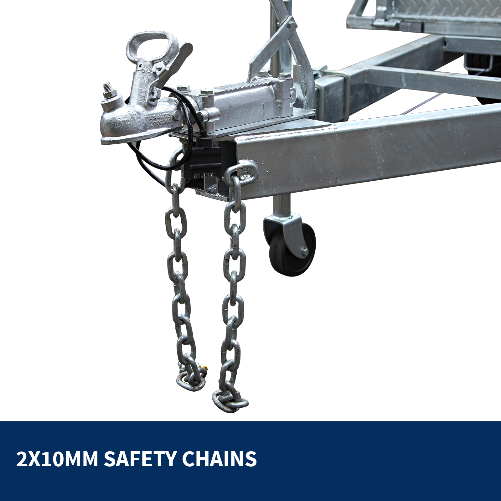 New 8x5 Tandem Axle Trailer from Xtreme Trailers with 600 mm cage
