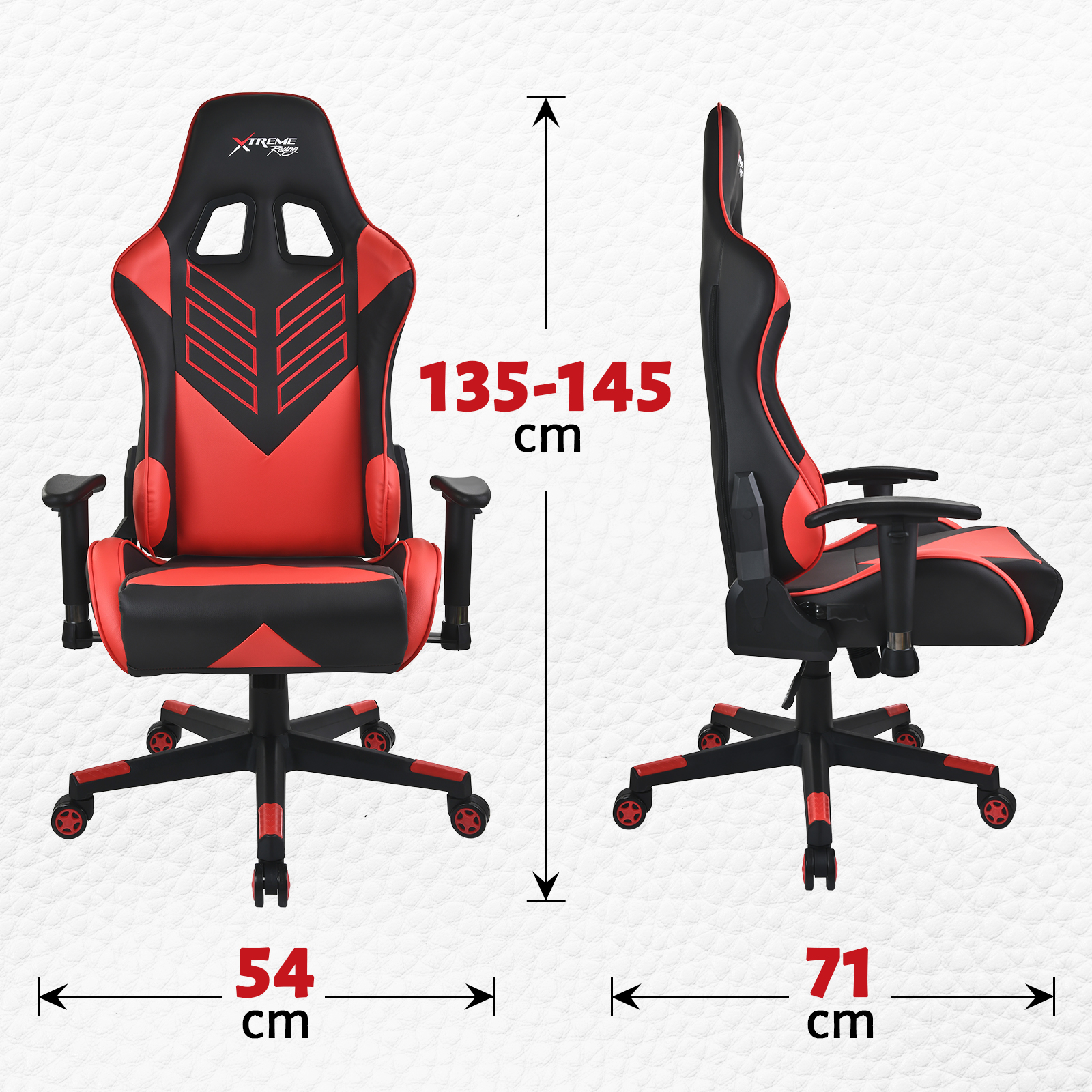 Xtreme Gaming Racing Office Chair PU Leather Computer Executive Ergonomic Seat A