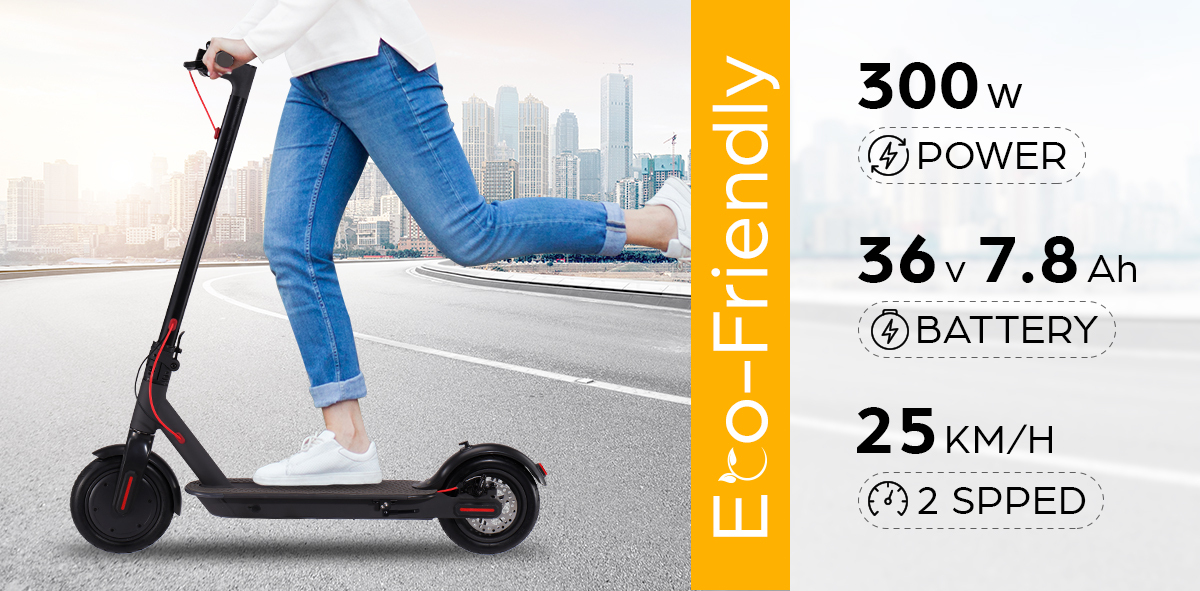 Electric-Scooter-300W-Foldable-Portable-Adult-Kids-Xiaomi-Band-Commuter-Bike-M thumbnail 15