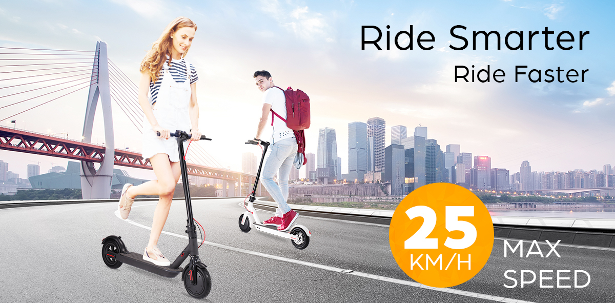 Electric-Scooter-300W-Foldable-Portable-Adult-Kids-Xiaomi-Band-Commuter-Bike-M thumbnail 20