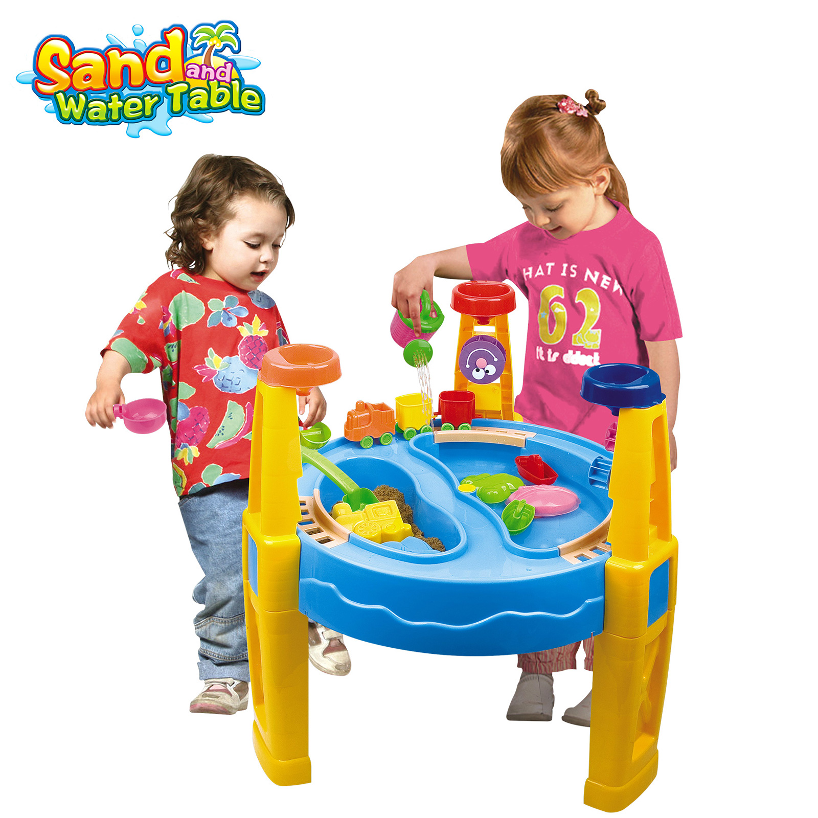 24 pcs Outdoor Sand and Water Children Activity Play Table