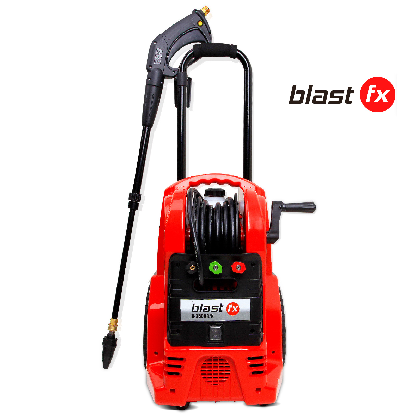 3600 PSI Powerful Water Washer Cleaner - Red Color