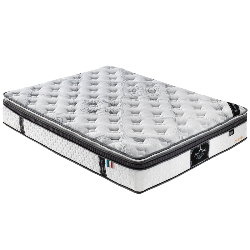 Queen Double King Single Mattress Euro and Pillow Top 9 Zone Latex Memory Foam Chiropractic 34CM