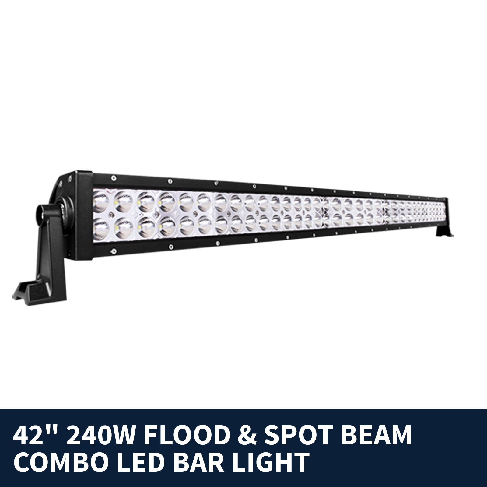 "42"" 240w LED Work Light Bar Spot Flood Combo Beam"