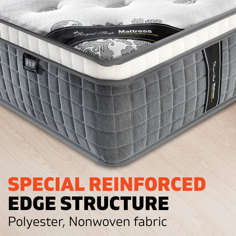 Double Bed Euro Top Mattress 34cm