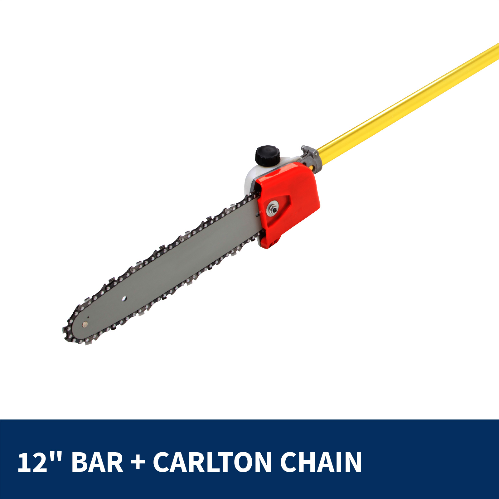 Ozstar 52cc Pole Chain Saw with Hedge Trimmer