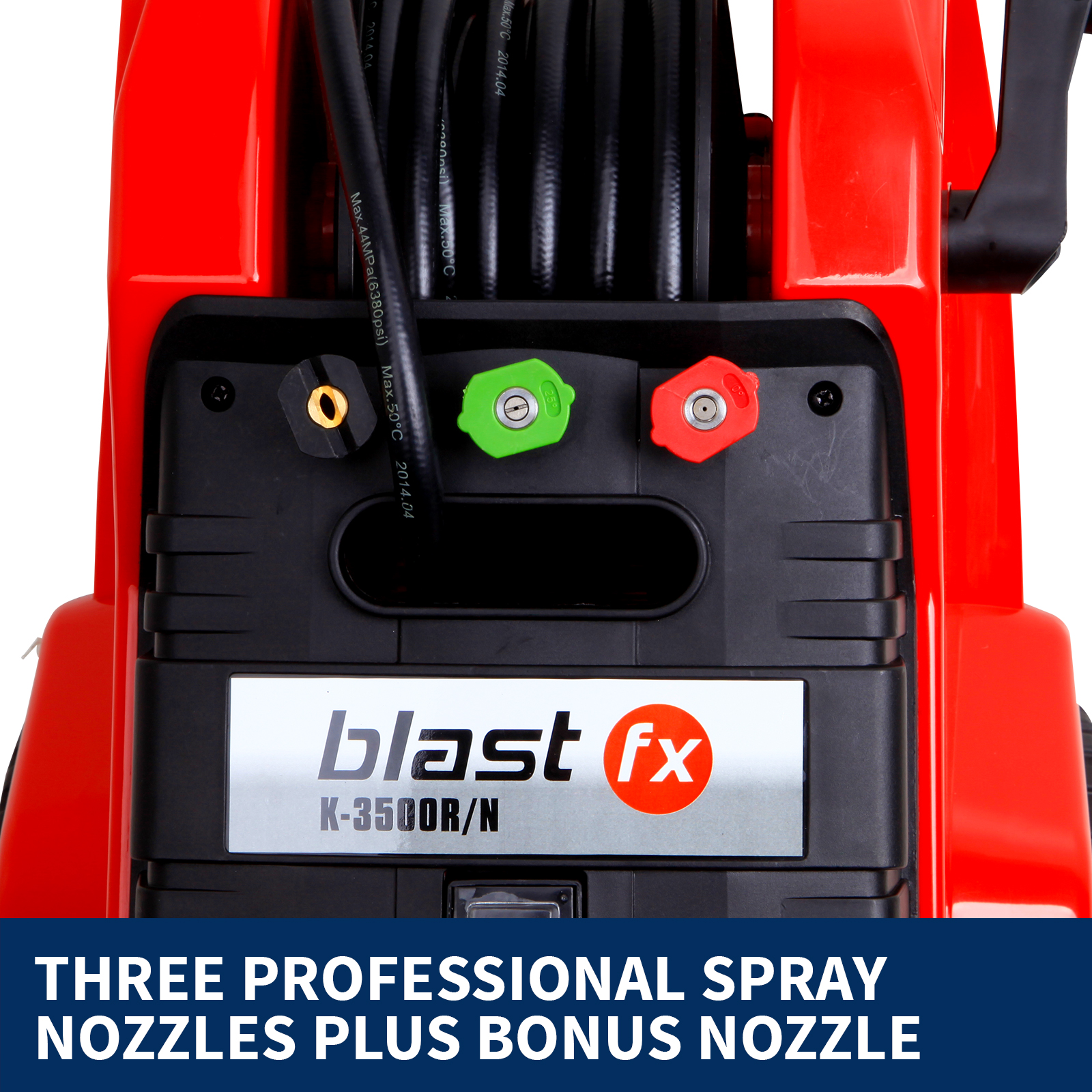 NEW BLAST FX3600psi High Pressure Washer Cleaner Electric Water Gurney Pump Hose