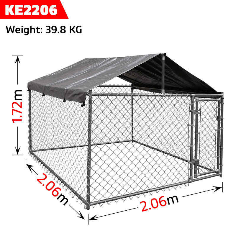 Royal Pets Large Dog Kennel Enclosure With Bonus Cover