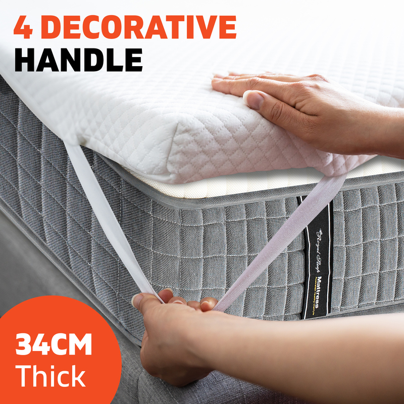 King Single Euro Top Mattress 34cm