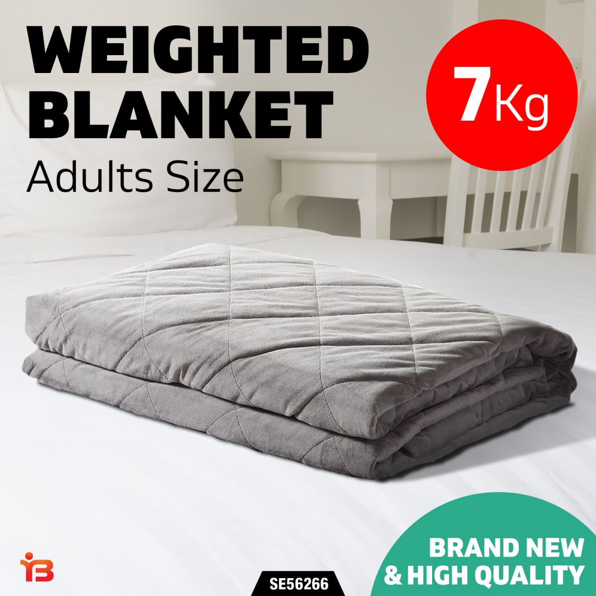 Dreamz 7kg Anti Anxiety Weighted Blanket