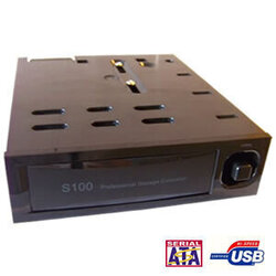 "Internal 3.5"" SATA HDD USB Docking Station (5.25"" Bay, Hot Swap)"