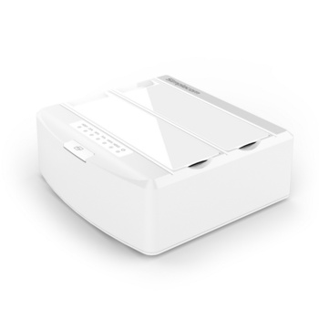 "Simplecom SD312 Dual Bay USB 3.0 Docking Station for 2.5"" and 3.5"" SATA Drive White"