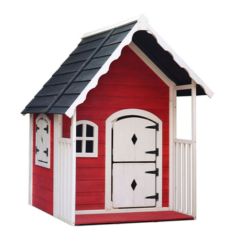 Kids Cubby House Wooden Cottage Playhouse