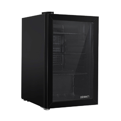 Devanti 70L Bar Fridge Glass Door Mini Countertop Freezer Fridges Bottle Cooler