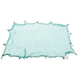 Cargo Net 1.5m x 2.2m 35mm Square Mesh Bungee Cord with Hook for Ute Trailer