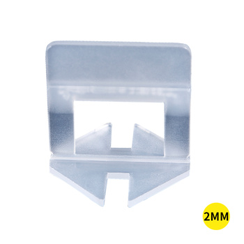 400x 2MM Tile Leveling System Clips Levelling Spacer Tiling Tool Floor Wall