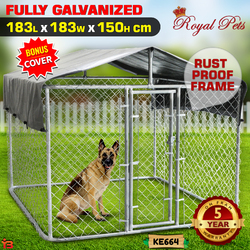 NEW Pet Dog Kennel Enclosure Playpen Puppy Run Exercise Fence Cage Play Pen A4