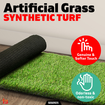 Artificial Synthetic Turf Flooring 10SQM Grass Lawn Outdoor Plant Lawn 35MM