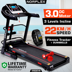 NEW NORFLEX 3.0P Treadmill Home Gym Exercise Machine Fitness Tracker Equipment